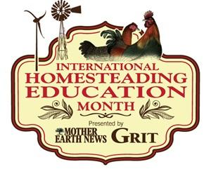 International Homesteading Education Month | Mother Earth News & Grit Magazine