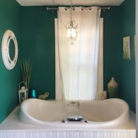 Our Jesse & Rhoda Room's jacuzzi tub