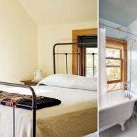 Clean and tidy bedrooms with private bathrooms.