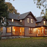 The farmhouse at Hillside Homestead