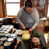 Lots of traditional homestead type cooking and preserving to experience.