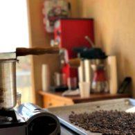 Roasting coffee
