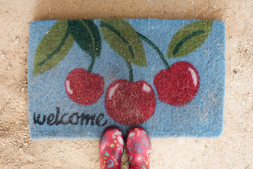 Welcome mat | Farm Stay USA