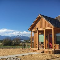 Gate House Rental on the Montana Permaculture farm at ABC acres!