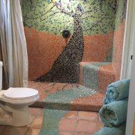 Bathroom in Unit 4, Morning Song Farm, CA