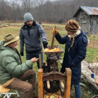 Cider making