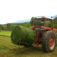 Rolling Round Bales