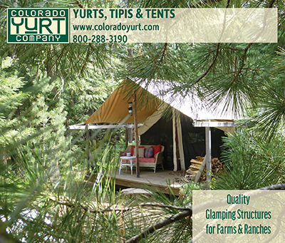 Colorado Yurt Company - Quality Glamping Structures for Farms & Ranches