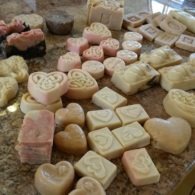 Farm-made soaps