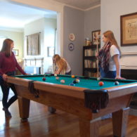 Blind Buck Valley Farmstead features a rec room with pool table, foosball table, and table tennis.