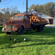 The old farm truck