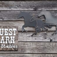 Guest barn available for travelers with horses
