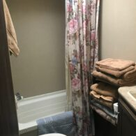 Full bath with shower in Fern, RV Guest House
